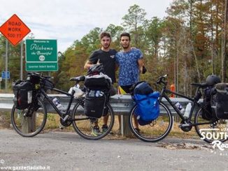 Un braidese in bicicletta dalla Florida alla California