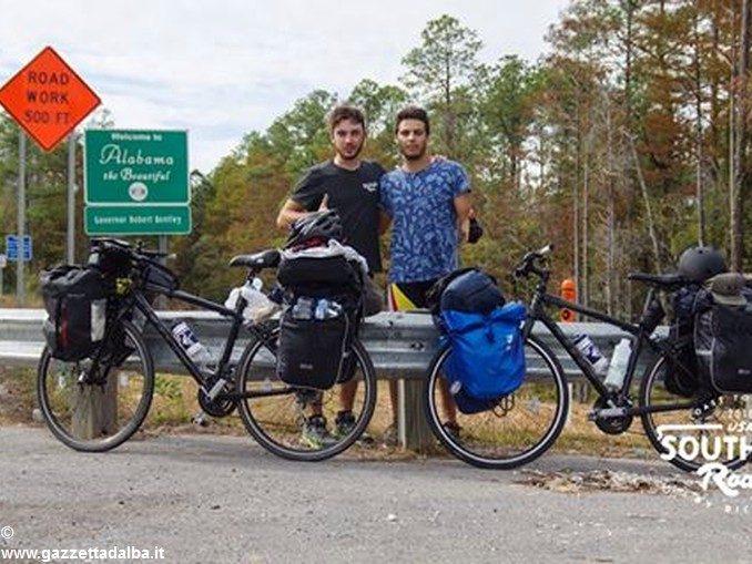 Un braidese in bicicletta dalla Florida alla California