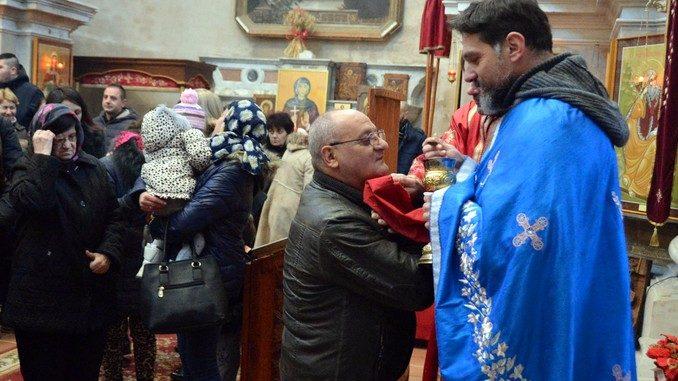 Gli ortodossi macedoni hanno celebrato il Natale