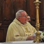 Il saluto commosso del Vescovo Brunetti al priocchese padre Stefano