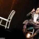 Jurij Ferrini, attore e regista  di Cyrano, lo spadaccino poeta