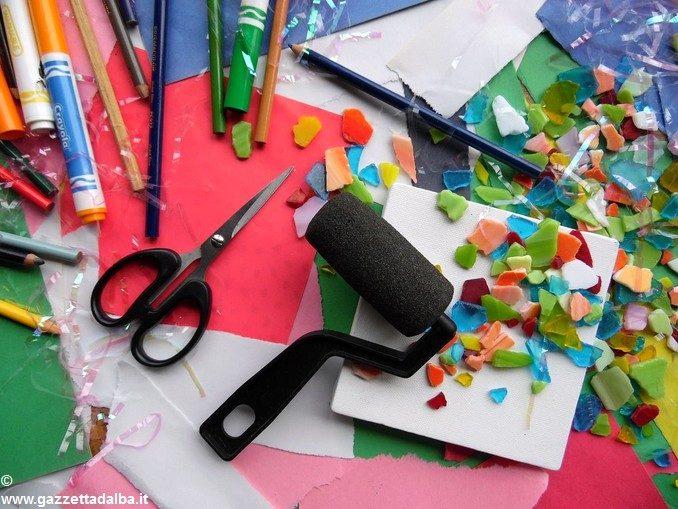 Riciclo creativo e corsi di inglese in biblioteca a Ceresole