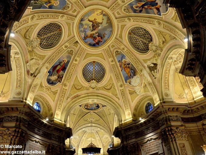 Chiesa San Rocco Montà illuminazione 3