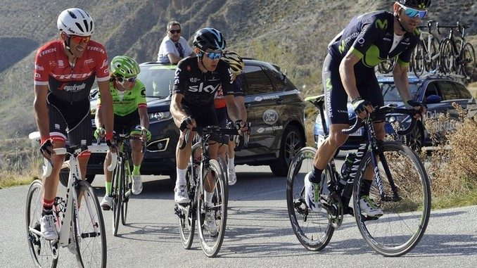 Diego Rosa quinto in Spagna alla Ruta del Sol
