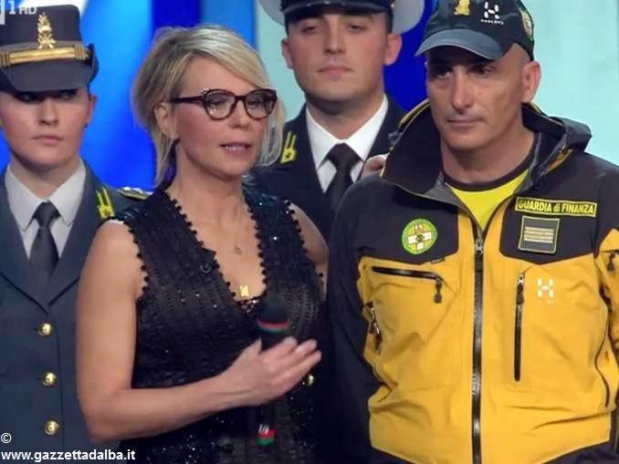Francesca Bertone sul palco di Sanremo