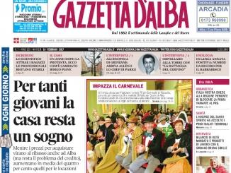 La copertina di Gazzetta in edicola martedì 14 febbraio