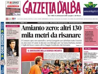 La copertina di Gazzetta in edicola martedì 21 febbraio