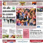 La copertina di Gazzetta in edicola martedì 28 febbraio