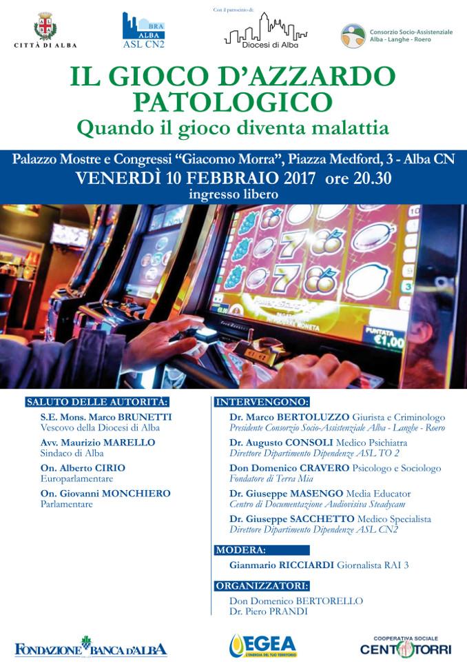 gioco azzardo patologico locandina