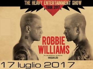 Sarà Robbie Williams a chiudere il programma di Collisioni, lunedì 17 luglio