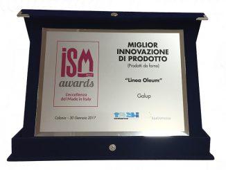 Incetta di premi per i prodotti della Galup di Bernocco agli Ism Awards di Colonia 1