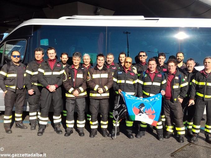 vigili fuoco conapo manifestazione roma 1