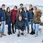 Studenti volontari sotto la neve tra i terremotati delle Marche
