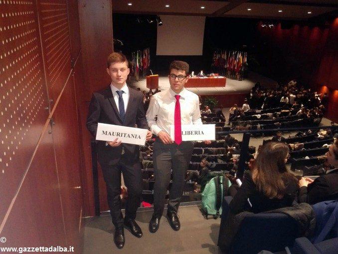 Giovani albesi e braidesi si sperimentano come ambasciatori all'Onu 1