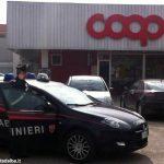 Due uomini in arresto per rapina impropria alla Coop di Bra