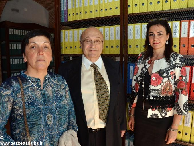 Coniugi Baroni Urbani e Renata Bianco sindaco Barolo 2
