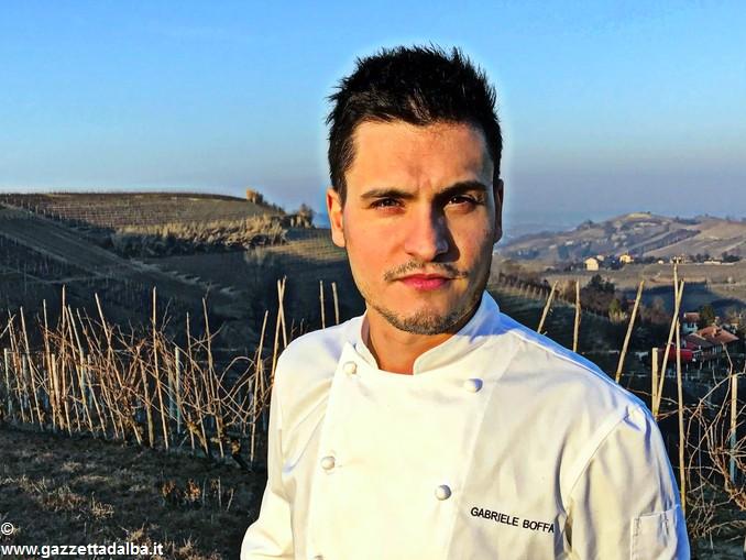 Gabriele Boffa chef Guarene