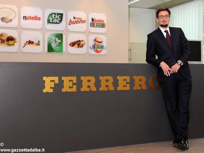 Ferrero: Giovanni nuovo presidente esecutivo del gruppo