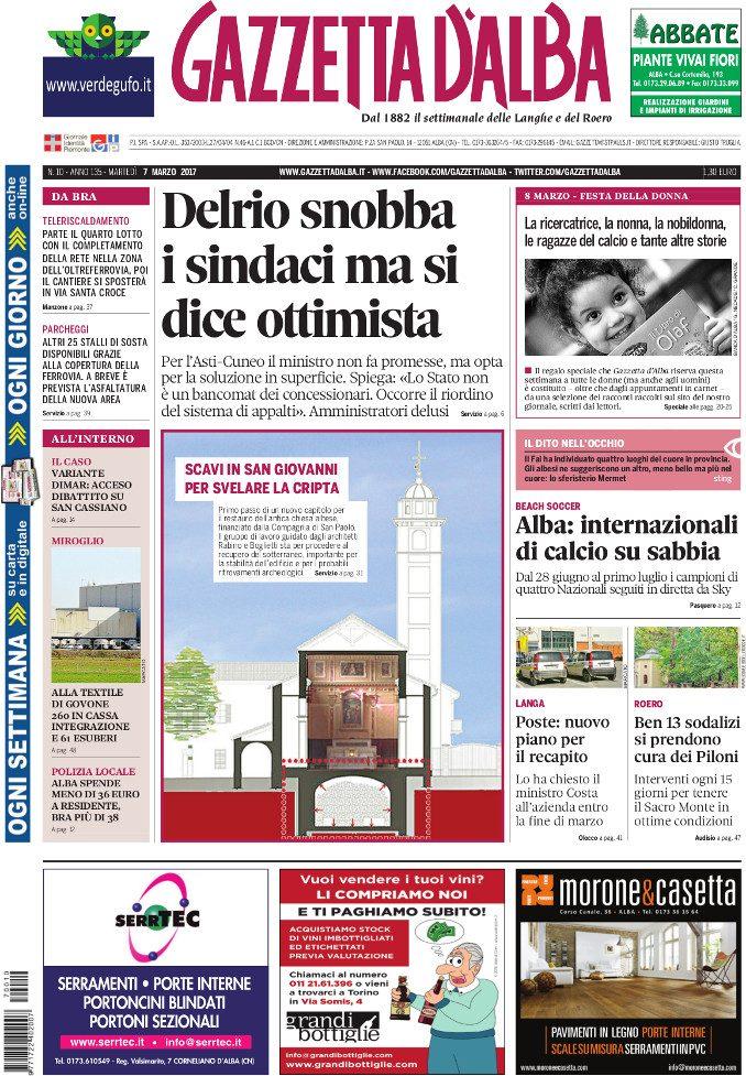 La copertina di Gazzetta in edicola martedì 7 marzo