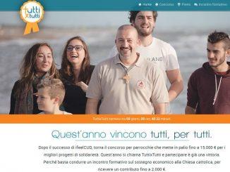 TuttixTutti il concorso della Cei rivolto alle parrocchie premia progetti di utilità sociale