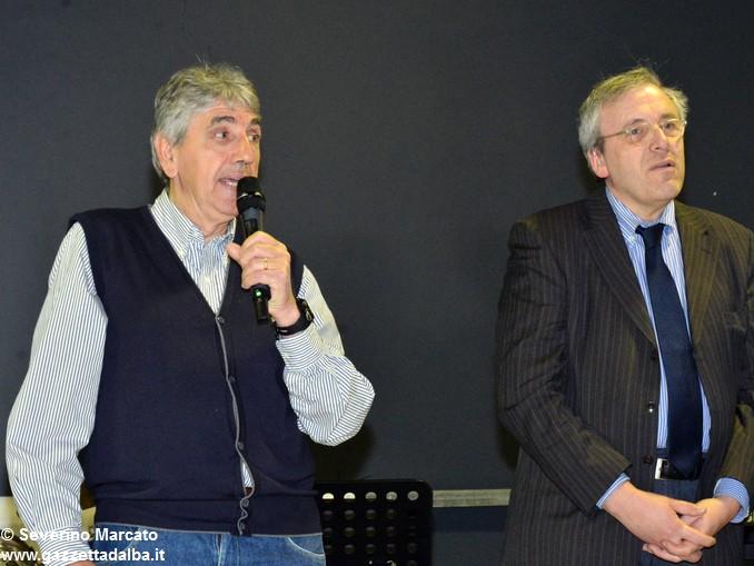 Teresio Asteggiano presidente Avis Cherasco e Giorgio Groppo1