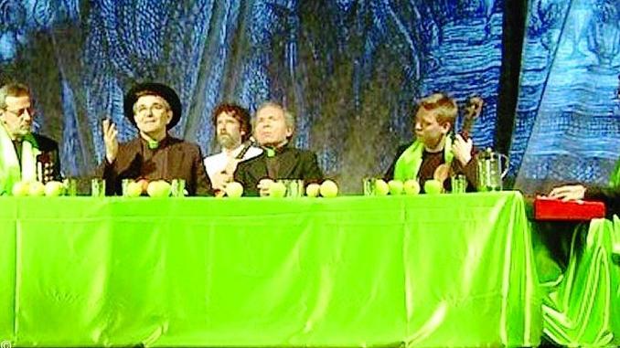 Pippo Bessone il 12 marserve La prima cena canonica al Sociale