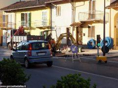 Tre giorni di senso unico alternato in via Bonissani a Ceresole 2