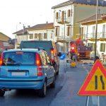 Senso unico alternato a Ceresole a causa delle asfaltature