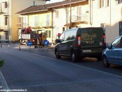Tre giorni di senso unico alternato in via Bonissani a Ceresole 5