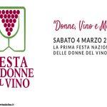 """Sabato 4 marzo: appuntamenti nelle Langhe e a Bra per la festa delle """"Donne del vino"""""""