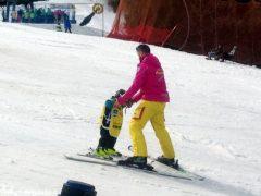 Oltre 370 persone ad Artesina per la Festa sulla neve della Ferrero 14