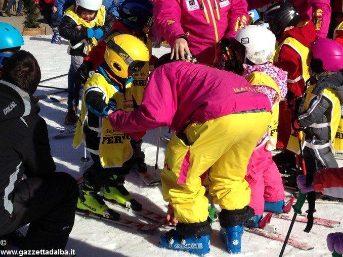 Oltre 370 persone ad Artesina per la Festa sulla neve della Ferrero 17