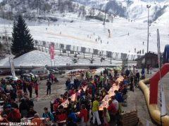 Oltre 370 persone ad Artesina per la Festa sulla neve della Ferrero 13