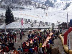 Oltre 370 persone ad Artesina per la Festa sulla neve della Ferrero 2