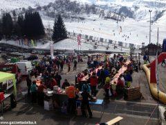 Oltre 370 persone ad Artesina per la Festa sulla neve della Ferrero 3
