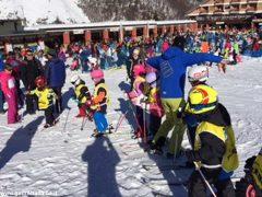 Oltre 370 persone ad Artesina per la Festa sulla neve della Ferrero 5