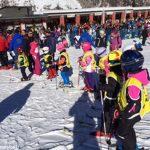 Sulle nevi di Cervinia con la sezione montagna del Gsr Ferrero