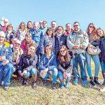 Turisti da tutto il Nord Italia alla festa della potatura