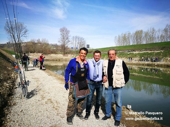 Lago San Biagio riaperto Emanuele Bolla con il presidente Franco Ghignone