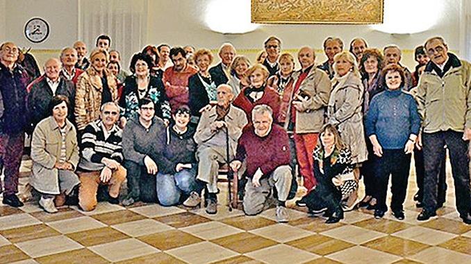 Ritrovo dell'Arvangia a San Donato per la Veglia del cucolo
