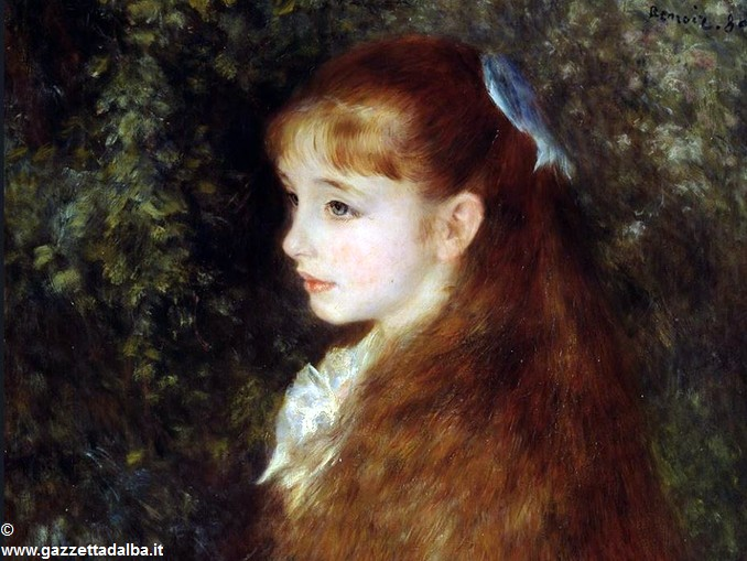 Auguste Renoir mademoiselle Irène Cahen d'Anvers