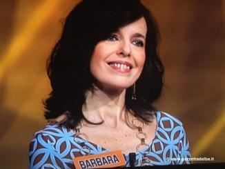 """Barbara, veneta residente ad Alba, in gara al quiz di Rai 1 """"L'eredità"""""""
