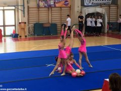 Menzione speciale per la scuola media Pertini di Alba al Gymfestival di Senigallia