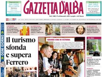 La copertina di Gazzetta in edicola martedì 4 aprile