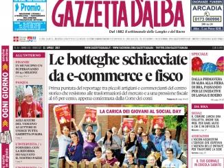La copertina di Gazzetta in edicola martedì 11 aprile