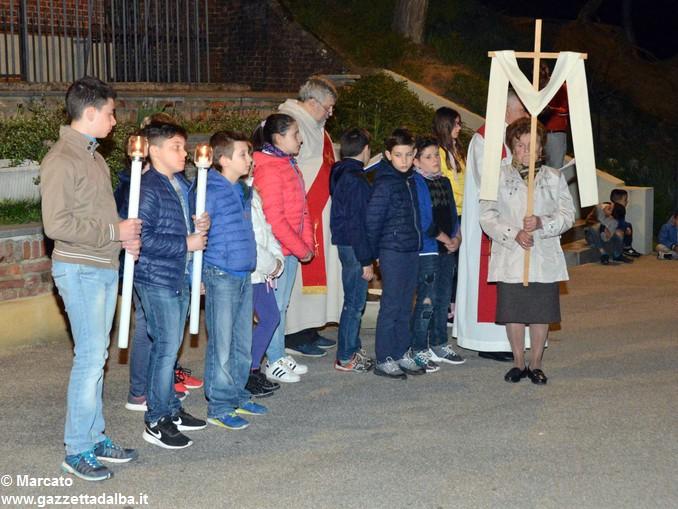 Via crucis piloni di Montà 6