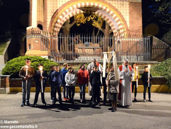Via crucis piloni di Montà 7