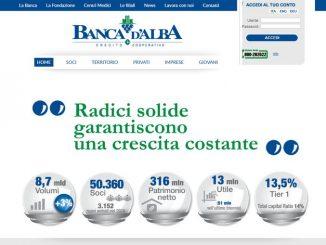 Banca d'Alba tra le prime dieci in Italia per il suo sito web