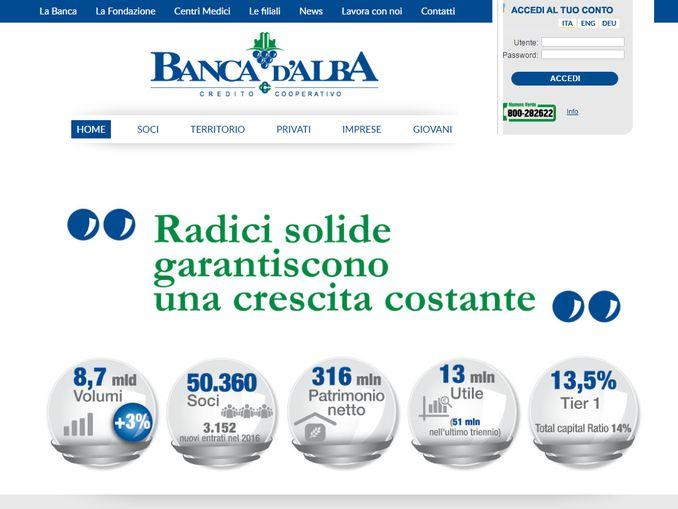 banca alba home page