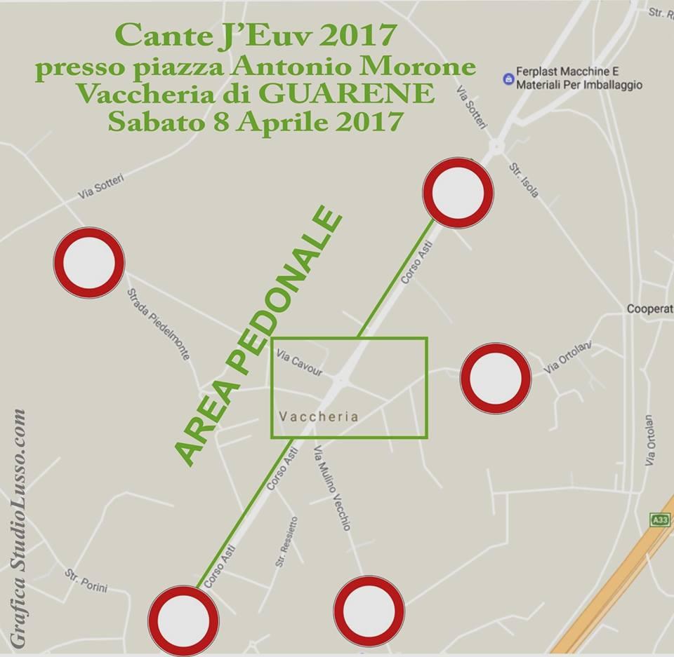 """Sabato 8 aprile tutti come una volta a  """"cantare le uova"""" a Guarene"""